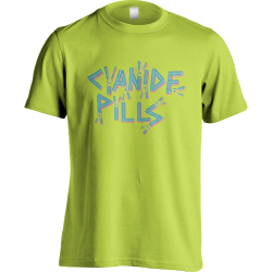 Blue/Pink Logo Lime Green T-shirt