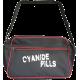 Black/Red Trim Logo Bowling Bag