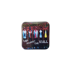 Up Against The Wall Badge